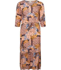 maxiklänning jruilu 3/4 sleeve maxi dress