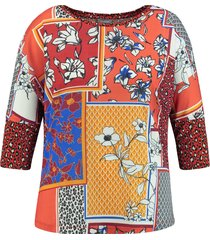 samoon blouse 371006 / 26415 terra patterne - size 40 / l