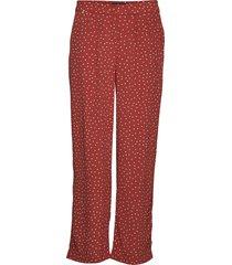 valérie trousers wijde broek rood morris lady
