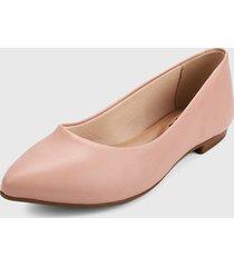 baleta rosado beira rio
