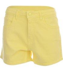 love moschino cotton shorts