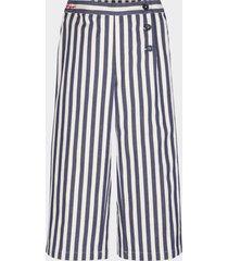 pantalón de rayas multicolor tommy hilfiger