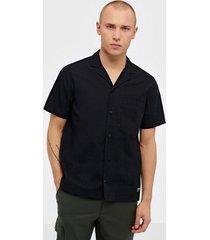 dr denim kai city shirt skjortor black