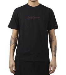 yohji yamamoto x new era black t-shirt