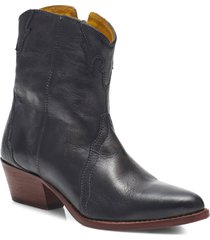 women's free people new frontier western bootie, size 6us - grey