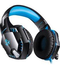head-mounted v-2 auriculares diadema ajustable almohadillas suaves high-sensitive