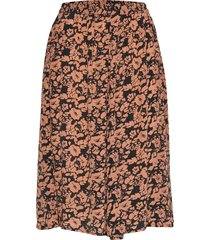 diana skirt knälång kjol brun nué notes