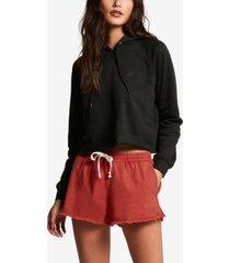 volcom juniors' strutin stone cotton shorts