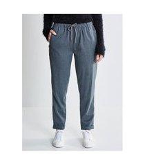 calça alfaiataria pijama