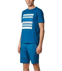 boss men's tee 2 cotton-jersey t-shirt