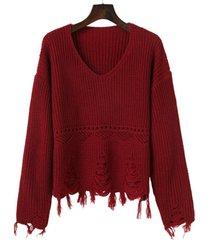 maglia sciolti in pizzo sciolti per le donne
