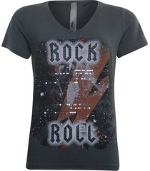 t-shirt antraciet