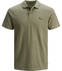poloshirt jack & jones groen plus size