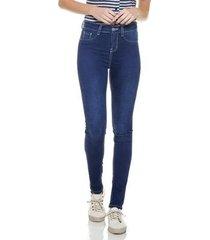 calça jeans denim zero skinny média escura feminina
