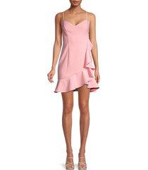 likely women's laverna mini slip dress - peony - size 8