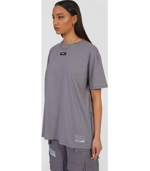 oversized utility t-shirt, light grey