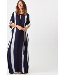 camisola joge kaftan azul marinho - azul marinho - feminino - dafiti