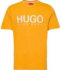 dolive212 t-shirts short-sleeved orange hugo
