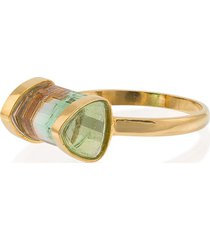 jessie western watermelon horizon ring - green