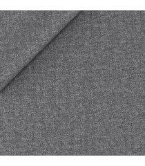 blazer da uomo su misura, reda, traveller grigio melange, autunno inverno   lanieri
