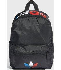 mochila tricolr mini bp negro adidas originals