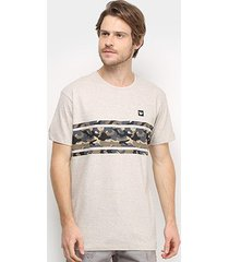camiseta hang loose army masculina
