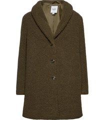 cindysz jacket outerwear faux fur grön saint tropez