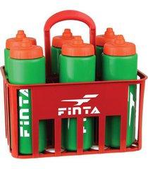 kit cesta com 6 squeezes finta válvula automática