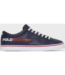 polo ralph lauren longwood sneakers sneakers navy