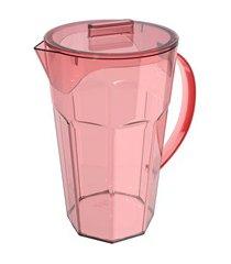 jarra drink em poliestireno 1,8 litros rosa quartz