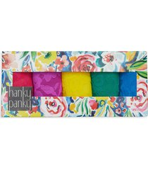 hanky panky assorted 5-pack lace low rise thongs in summer 2021 at nordstrom