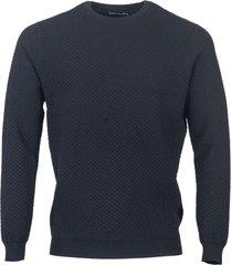 antony morato sweater slimfit viscose blend black 9000