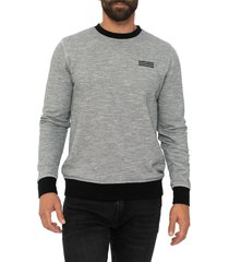 men's sol angeles thermal sweatshirt, size xx-large - black