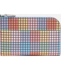 ganni women's large wallet - multicolour