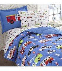 wildkin's heroes pillow case bedding