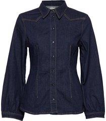 bonny overhemd met lange mouwen blauw baum und pferdgarten