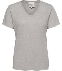 08 the vtee t-shirts & tops short-sleeved grå my essential wardrobe