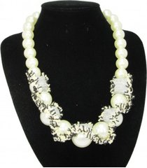 collar blanco sasmon cl-12221