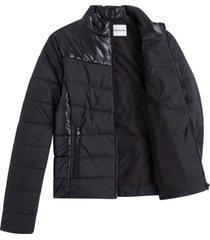 chaqueta padded negro calvin klein