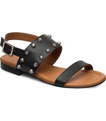 sandals 4011 shoes summer shoes flat sandals svart billi bi