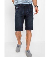 stretch jeans bermuda met comfort belly fit, regular fit