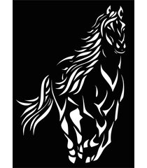 dekoracja ścienna koń
