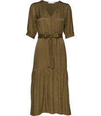 irinagz long dress ao19 knälång klänning grön gestuz