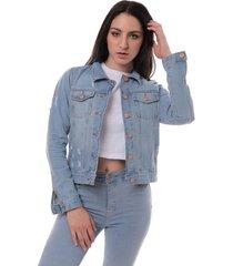 campera azul vov jeans ambar