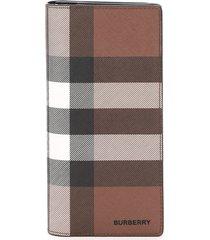 burberry cavendish tartan wallet