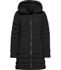 arabella w coat gevoerde lange jas zwart 8848 altitude
