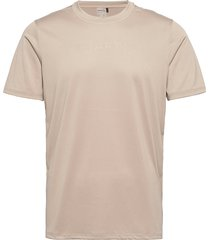 core essence ss mesh tee m t-shirts short-sleeved beige craft