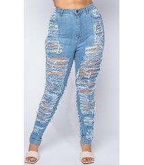 akira plus money maker distressed skinny jeans