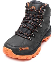zapatilla lotus high men waterproof i grafito spalding