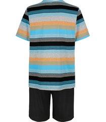 pyjamas g gregory 1 svart/turkos/orange